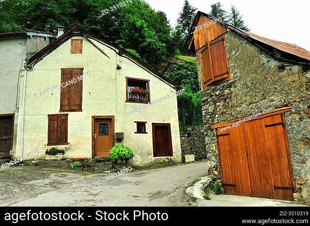 Castillon-en-Couserans town, Ariège department, France