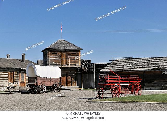 The Fort Museum, Fort Macleod, Alberta, Canada