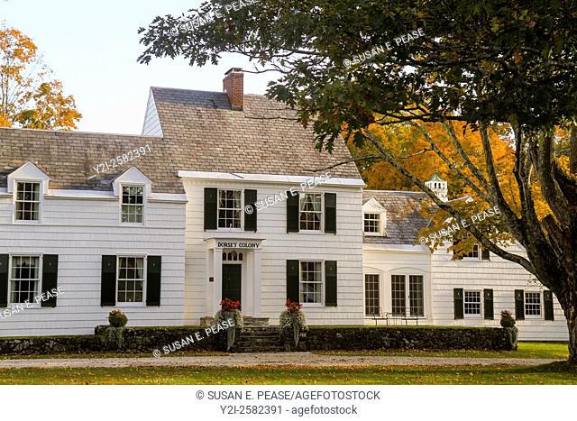 Dorset Colony House, Dorset, Vermont, United States, North America