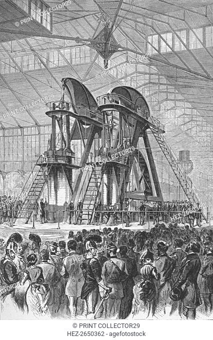 'President Grant and the Emperor of Brazil officially opened the Centennial Exhibition', c1876, (193 Artist: Theodore R Davis