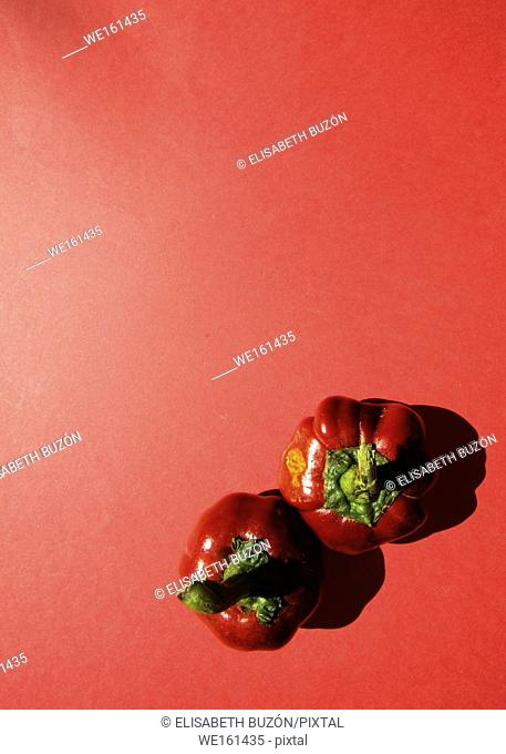 Small round red pepper
