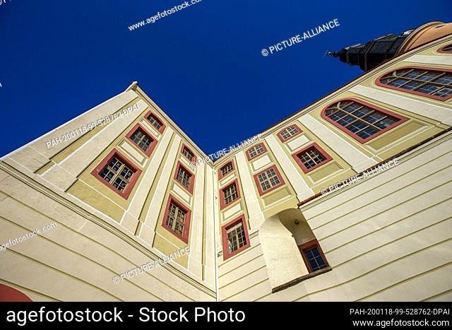 16 January 2020, Saxony, Weesenstein: In the Saxon castle Weesenstein near Pirna in the Müglitz valley a part of the art treasures of the Free State of Saxony...