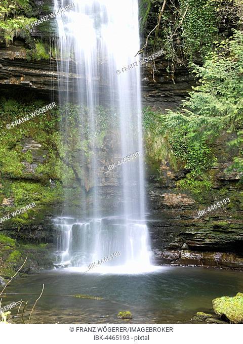 Glencar Waterfall, Leitrim, Connacht, Ireland