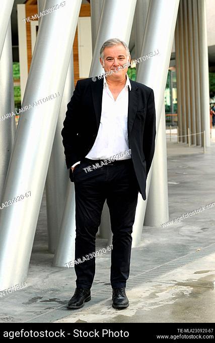 Ludovico Di Meo director Rai2  during the photocall, Rome, ITALY-23-09-2020