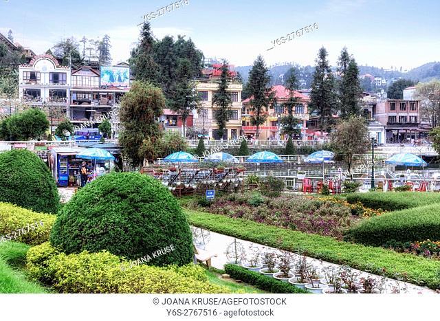 town of Sapa, Lao Cai, Vietnam, Asia