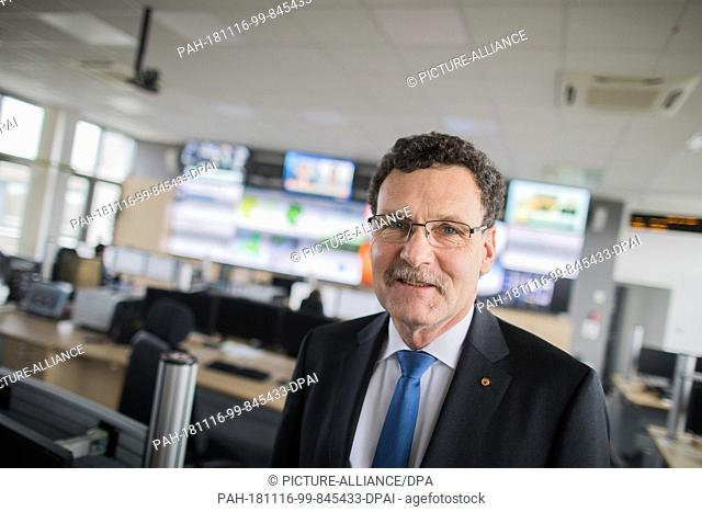 14 November 2018, North Rhine-Westphalia, Bonn: Christoph Unger, President of the Federal Office for Disaster Relief and Civil Protection