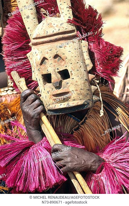 Hyena mask, Dogon Country, Mali