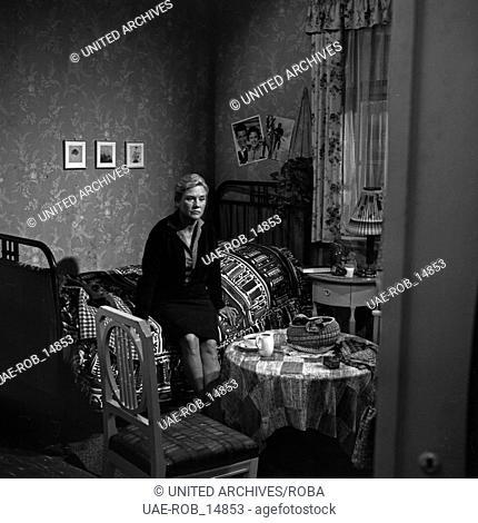 Mach's Beste draus, Fernsehfilm, Deutschland 1965, Regie: Peter Beauvais, Darsteller: Ilsemarie Schnering (?)
