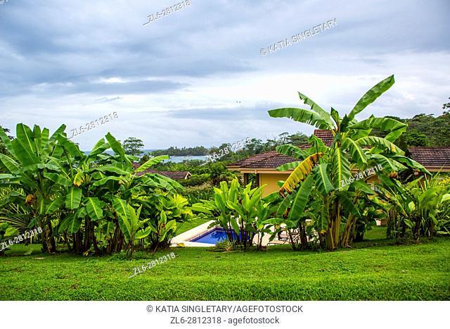 Resort. Isla Bastimentos, Bocas del toro, Panama