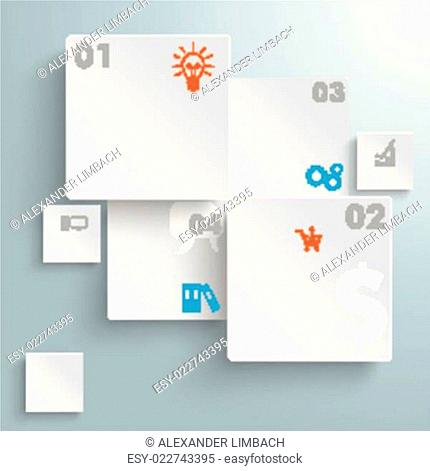 Abstract Rectangles Infographic Design PiAd