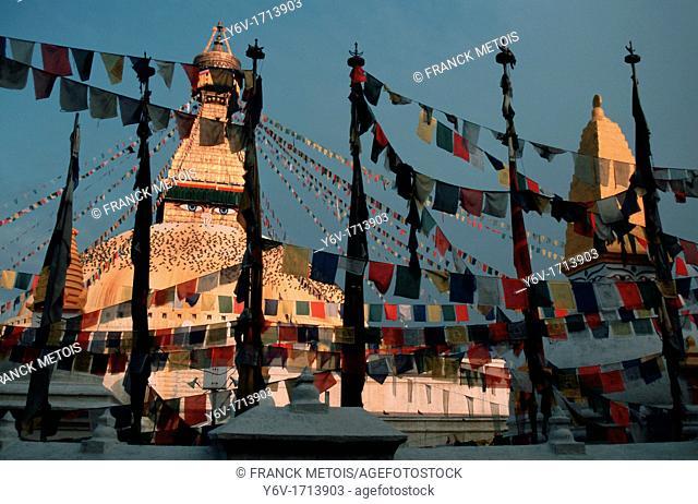 Stupa at Boudha, Kathmandu, Nepal