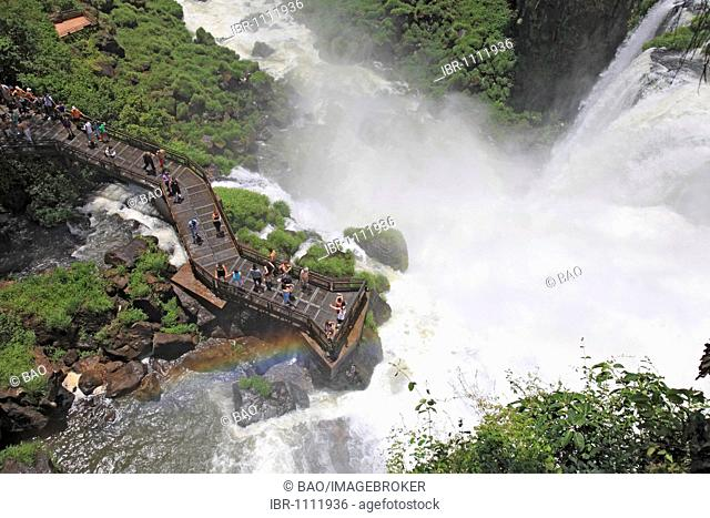 Iguazu Falls, Iguazu, Argentinian side, Misiones Province, Argentina