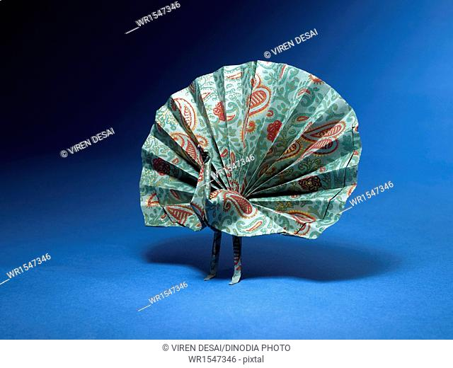 origami peacock India Asia