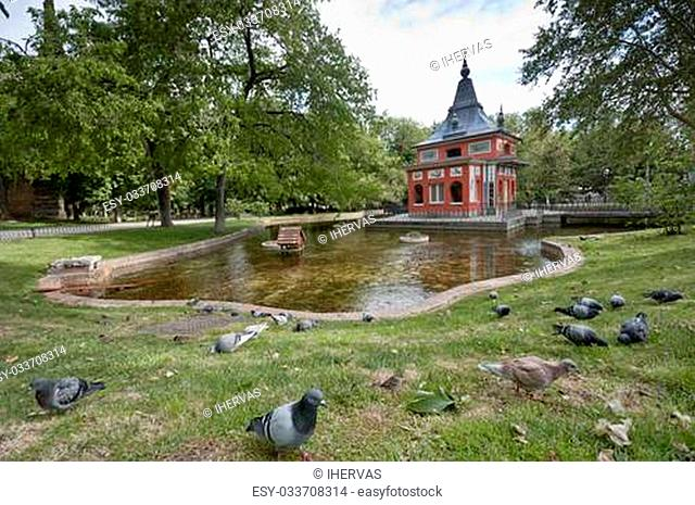 Little Fisherman House. It is located in Retiro Park, Madrid, Spain. It was built by King Ferdinand VII, and is one of the few remaining examples of buildings...