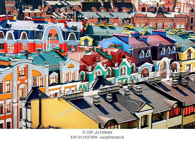 Colorful Residential Buildings