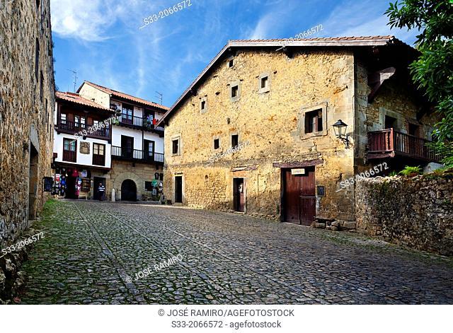Santillana del Mar. Santander. Cantabria. Spain