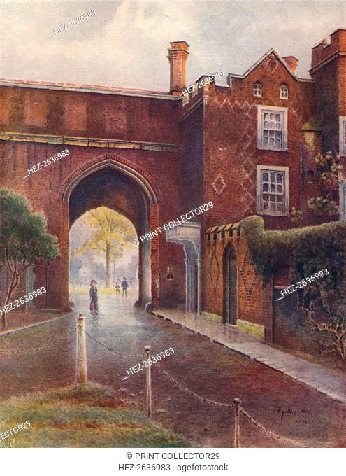 'Gateway of Richmond Palace', 1910, (1914). Artist: James S Ogilvy