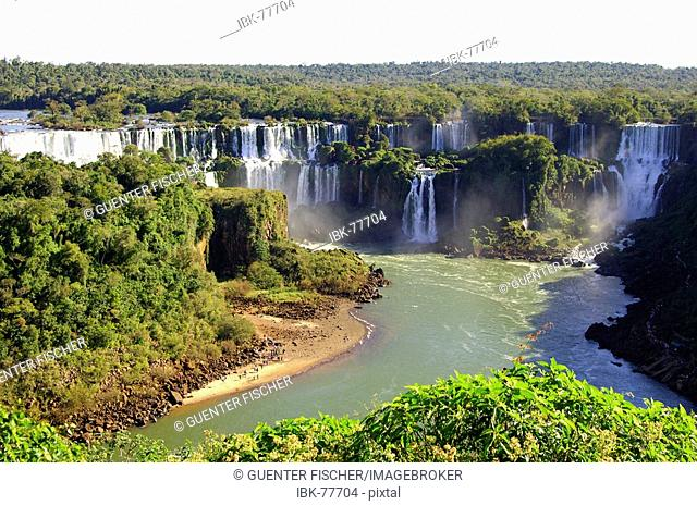Iguazu Waterfalls Argentina Brazil