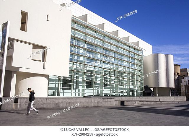 Museum of Contemporary Art of Barcelona (MACBA), Barcelona. Catalonia, Spain