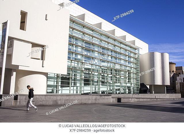 Museum of Contemporary Art of Barcelona (MACBA), Barcelona. Catalonia, Spain
