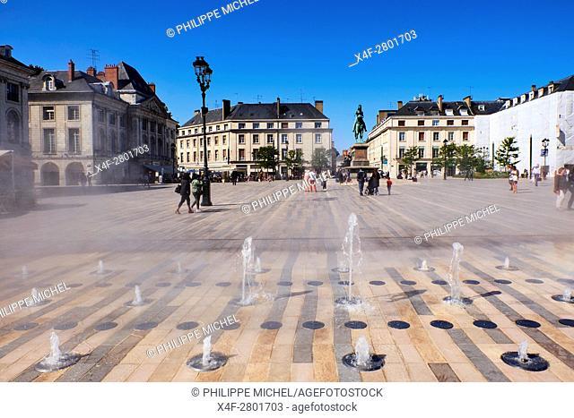 France, Loiret, Orleans, Martoi square