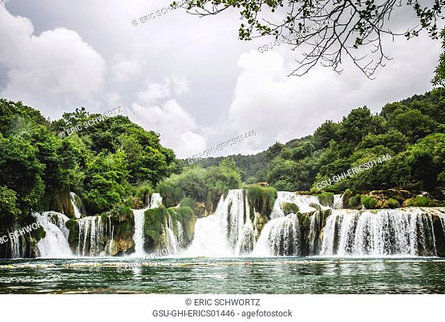 Waterfalls, Krka National Park, Sibenik, Croatia