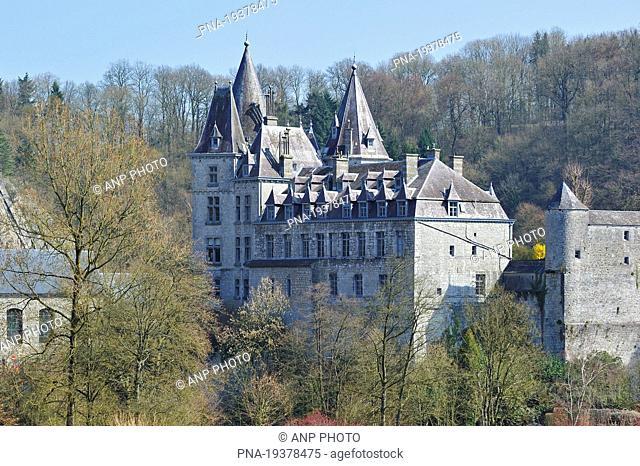 Chëteau de Durbuy, Durbuy, Ardennes, Luxembourg, Wallonia, Belgium, Europe
