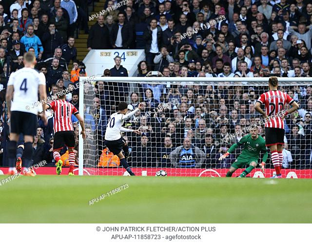 2017 Premier League Football Tottenham Hotspur v Southampton Mar 19th. March 19th 2017, White Hart Lane, London, England; EPL Premiership football