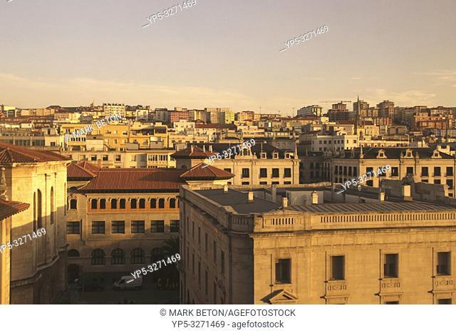 Santander cityscape Spain