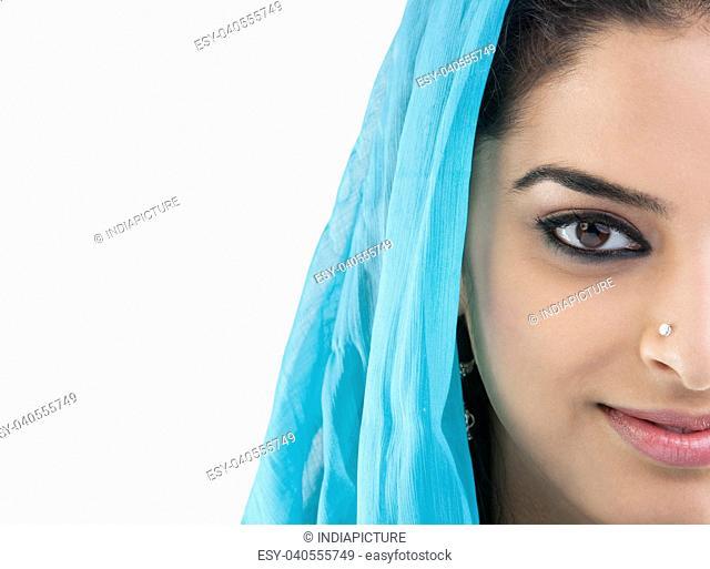 Portrait of a Muslim woman