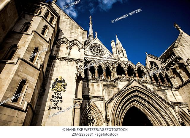 The Royal Courts of Justice, commonly called the Law Courts, is a court building in London which houses both the High Court and Court of Appeal of England and...
