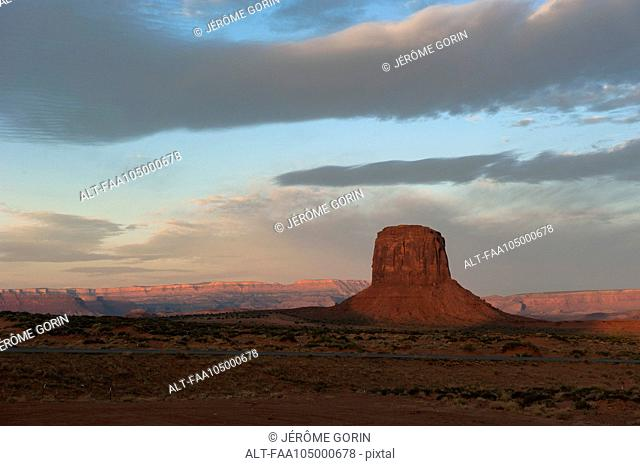 Merrick Butten in Monument Valley, Utah, USA
