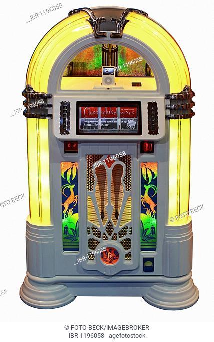 Ice Box, classic juke box, jukebox