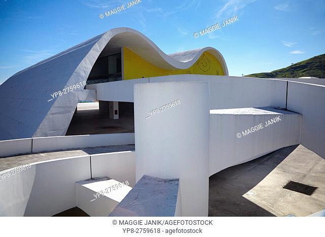 Teatro Popular de Niteroi Panorama, Brazil, South America
