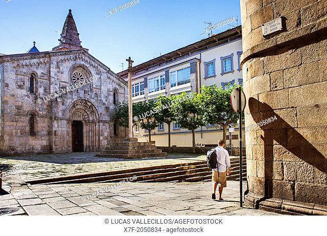 Colegiata de Santa Maria del Campo, Coruña city, Galicia, Spain
