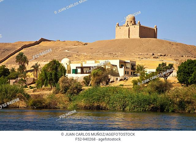Mausoleum of Agha Khan. Aswan. Nile Valley. Egypt
