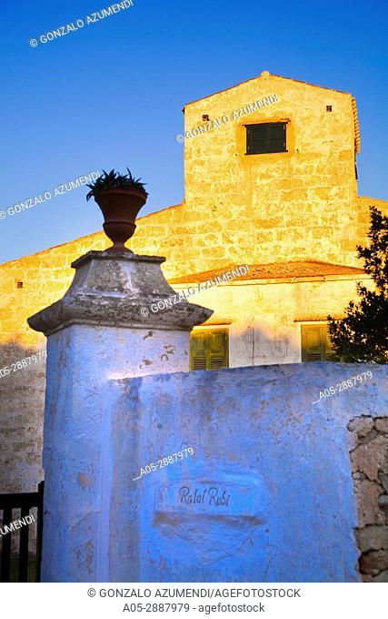 Rafal Rubi House. Minorca. Balearic Islands. Spain