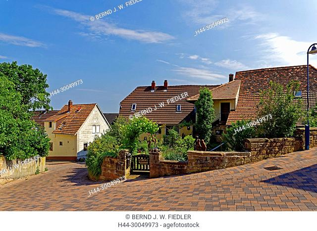 Houses, street view, Gleisweiler Germany