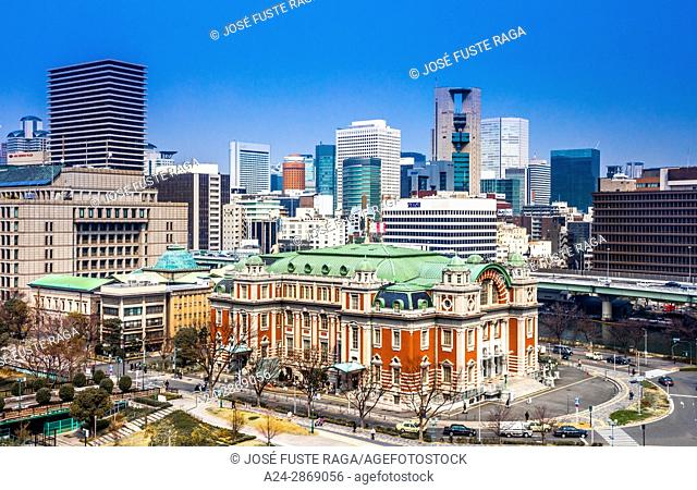 Japan, Kansai, Osaka City, Nakanoshima Central Public Hall