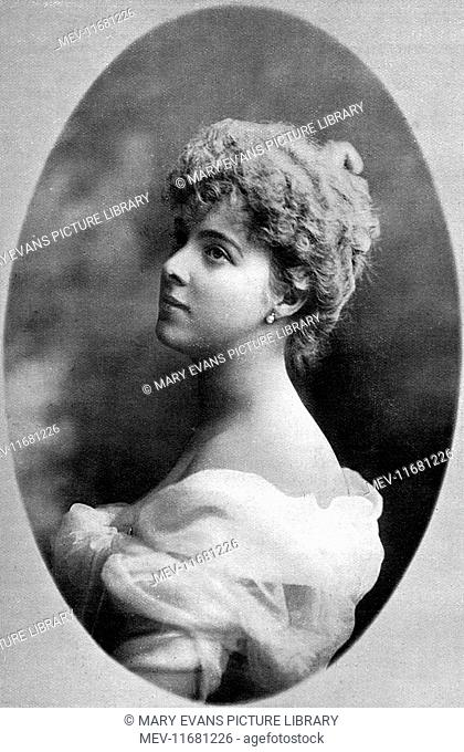 Daisy, Princess Henry of Pless (1873 - 1943), formerly Mary Theresa Olivia Cornwallis-West. A great Edwardian society beauty