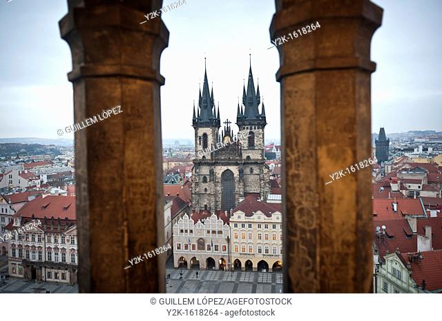 Old town Square, Stare Mesto, Prague, Czech Republic
