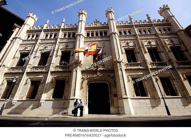 Consell de Mallorca, Council of Mallorca, Carrer del Palau Reial, Palma de Mallorca, Mallorca, Spain / Consell de Mallorca, Inselrat von Mallorca