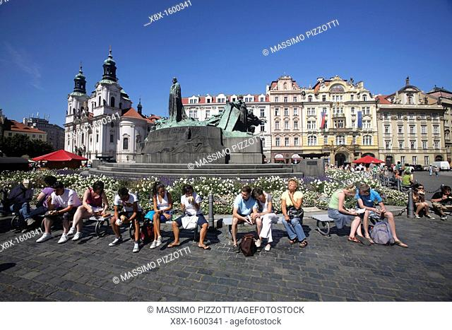The Center odf the Old town Stare Mesto, Prague, Czech Republic