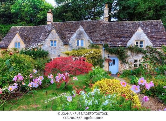 Bibury, Cotswold, Gloucestershire, England, United Kingdom