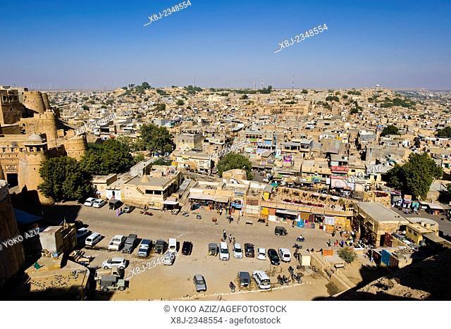 India, Rajasthan, Jaisalmer, landscape