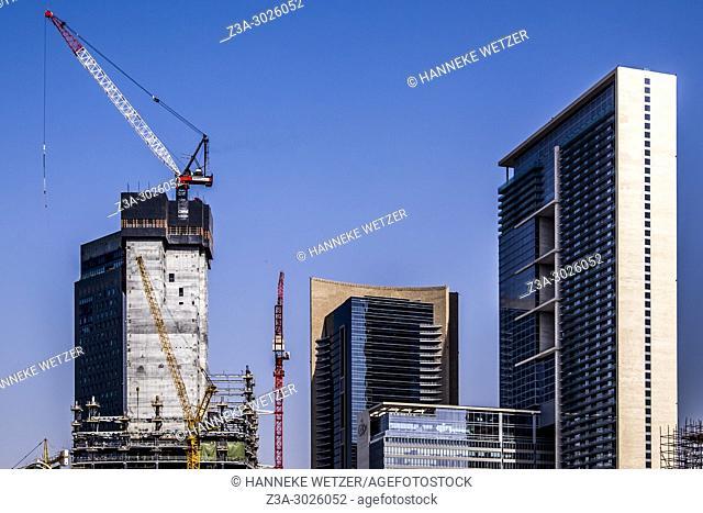 Construction site in Dubai, UAE