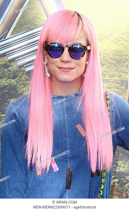 World Premiere of 'Pan' held at the Odeon Leicester Square - Arrivals Featuring: Lily Allen Where: London, United Kingdom When: 20 Sep 2015 Credit: WENN