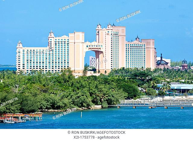 Atlantis Paradise Island Resort and Waterpark on Paradise Island in Nassau, Bahamas