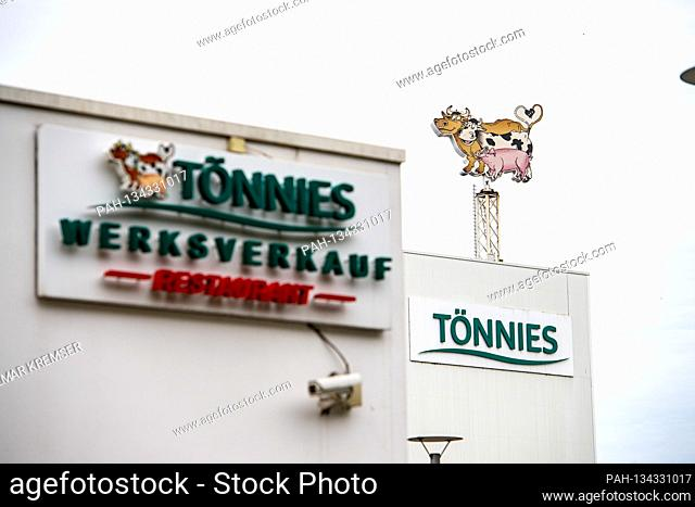 Factory outlet and restaurant at the headquarters of the Toennies group in Rheda-Wiedenbrueck on July 27, 2020.  | usage worldwide