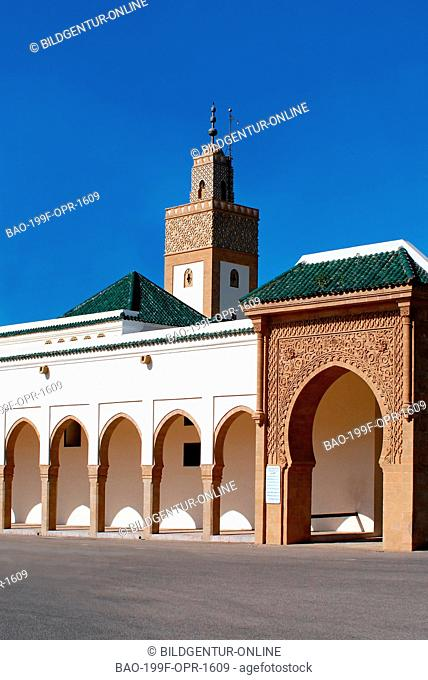 Image of the Mosque at the Kings Palace in Rabat